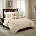 Beautiful Taupe Brown Soft Diamond Quilted Comforter 5 pcs Cal King Queen Set  image