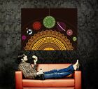 D3197 Cool Solar System Space Art Style Gigantic Print POSTER