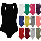 New Sexy Womens Playsuit Jumpsuit Sleeveless Bodysuit Stretch Leotard Vest Top