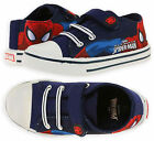 Boys Official Marvel Spiderman Trainers New Kids Superhero Shoes Sizes 7.5-12