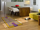 """Los Angeles Lakers Court Runner Mat Area Rug 30"""" x 54"""""""