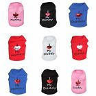 Внешний вид - Dog Pet Clothes Summer I Love My Mommy Vest Sleeveless Dog T-Shirts Apparel HOT