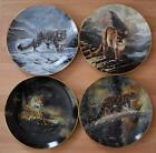 W S GEORGE 'THE WORLD'S MOST MAGNIFICENT CATS' COLLECTOR PLATES by CHARLES FRACE