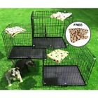 Small Medium Large XL XXL Pet Dog Cage Crate Foldable Carry Transport Training