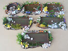 1:12 Scale Fish With A Pond & Floral Surround Dolls House Garden Accessory DIY