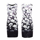 Stella Morgan Designer Womens Peony Pencil Dress Ladies Tailored Evening Midi