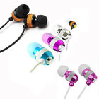 2x Quality Metallic 3.5mm Earphones Earbuds for iPhone 6s Galaxy s6 s7 LG G2 G4