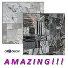 Real MARBLE mosaic tiles! BLACK / WHITE Marble Tiles mosaic for kitchen bathroom