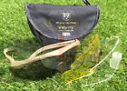 NEW BRITISH ARMY SURPLUS TAN FRAME REVISION SAWFLY MAX BALLISTIC SAFETY GLASSES
