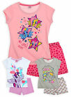 Girls Official My Little Pony Short Sleeve PJ Set New Kids Nightwear 4-10 Years