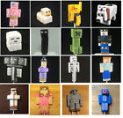 minecraft creeper party supplies - Edible 3D Figures Cake Toppers Cupcake Decorations for Minecraft Theme Party