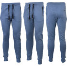 New Mens Slim Skinny Fit Designer Stretch Bottoms Joggers