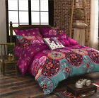 Oriental Mandala Duvet Cover with Pillowcase Quilt Cover Set  Single Double King