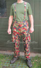 SWISS ARMY SURPLUS ISSUE G2 ALPENFLAGE,HD TROUSERS,6 COLOUR SUMMER COMBAT PANTS