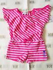 Juicy Couture Baby JC Monogram Striped Romper NWT 12-18 18-24 Months JCLIG226