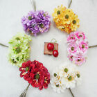 6color choice wholesale Wedding The simulation flower wreath material 2 5 10set