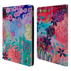 OFFICIAL CARRIE SCHMITT FLORALS LEATHER BOOK WALLET CASE COVER FOR APPLE iPAD