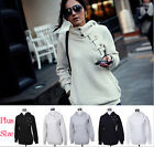New FASHION Women's Hooded Sweater Pullover Casual Coat Blouse Tops Jacket S-XXL