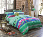 Bohemia Exotic Duvet Cover with Pillow Case Quilt Cover Bedding Set Single King