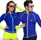 2016 NEW! Men&Women Snorkeling Diving Skinsuit Surfing Long-sleeve Tops Wetsuit
