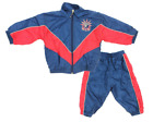 NHL Infant New York Rangers 2 Piece Retro Crinkle Wind Suit, Navy-Red