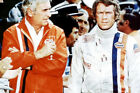 Steve Mcqueen Ronald Leigh Hunt At Race Track Le Mans 24x36 Poster(60x91cm)