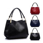 New Ladies Messenger Hobo Bag Lady Leather Shoulder Bag Handbag Tote SHOB