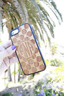Natural Cherry Wood Case. Personalized iPhone and Samsung Galaxy Cases. Polkadot