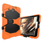 Shockproof Hybrid Rugged Soft Case Screen Cover For Samsung Galaxy Tab 3 4 A E