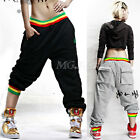 New Men Womens Casual Hip-hop Harem Baggy Pants Crotch Collapse Sweatpants Dance