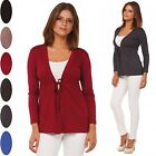 Glamour Empire. Women's Jersey Tie Cardigan Top Empire Waist. Long Sleeves. 235