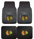 Chicago Blackhawks Heavy Duty Floor Mats 2 & 4 pc Sets for Cars Trucks & SUV's $26.85 USD on eBay