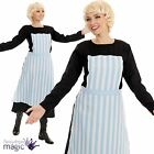 Ladies Womens Maria Sound of Music Film Swiss Nanny Fancy Dress Costume Outfit