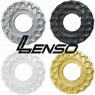 LENSO BSX CENTRE PLATE DISC WAFFLE CAP SPARES PART SILVER GOLD BLACK WHITE