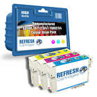 REMANUFACTURED (NON GENUINE) EPSON 18XL - 3 COLOUR INK CARTRIDGE VALUE PACK