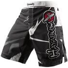 Hayabusa Metaru Performance Shorts White Black NEW 30 32 34 36 38 Free Shipping!