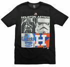 MLB Youth Houston Astros Star Wars Main Character T-Shirt, Black