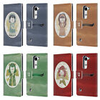 HEAD CASE DESIGNS CHRISTMAS ANGELS LEATHER BOOK WALLET CASE COVER FOR LG SPIRIT