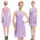 Mauve New Women Short Cocktail Party Formal Evening Ball Prom Dress Wedding Gown