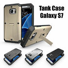 For Samsung Galaxy S6 S7 New Luxury 360° Shockproof Protective Hard Case Cover