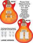 Coloriffic Double Sunburst Electric Guitar shape wall plate Switch Decora Rock