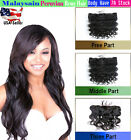 """Lace Frontal Closures 13""""x4"""" Peruvian Body Wave Virgin Human Remy with Baby Hair"""