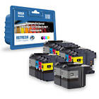 COMPATIBLE BROTHER LC12E 14 INK CARTRIDGE SUPER SAVER VALUE PACK (LC12E K/C/M/Y)