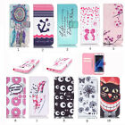 Luxury Painting Leather Folio Wallet Case Pouch For Various Mobile phones 43 a
