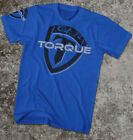 Torque Evolution Shield T-Shirt (Blue) - mma bjj ufc