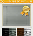 *PREMIUM QUALITY* REAL WOOD VENETIAN BLINDS WITH STRINGS - 50MM SLATS