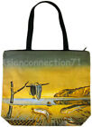 DISINTEGRATION OF MEMORY Salvador Dali Art Bag Purse Tote S or L New PN