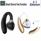 Bluetooth Business Style Headset Headphone wireless Stereo Earphone Earbuds