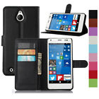 Luxury PU Leather Flip Case Stand Wallet Pouch Back Cover For NOKIA Lumia Phone