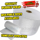 BUBBLE WRAP ROLLS (300mm, 500mm, 750mm) Small & Large - FAST & FREE DELIVERY
